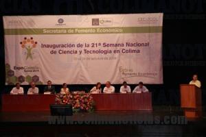 Inaugura Gobierno Semana Nacional de Ciencia y Tecnología