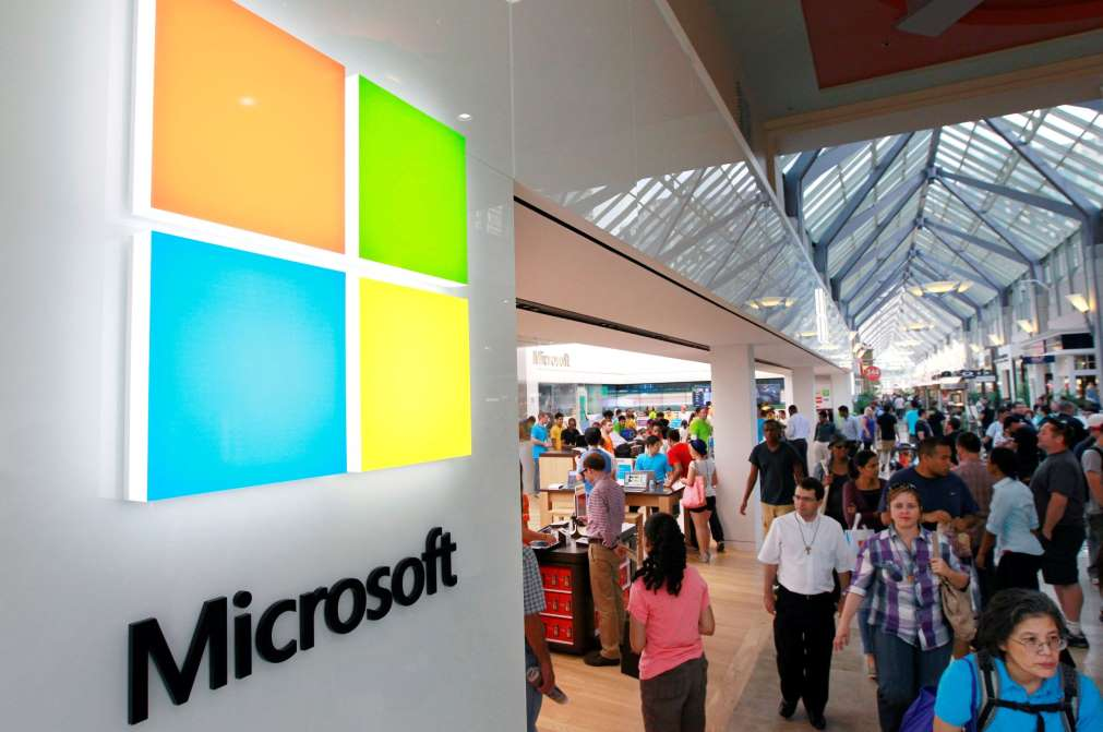 Microsoft ocupa 2do lugar en valor bursátil