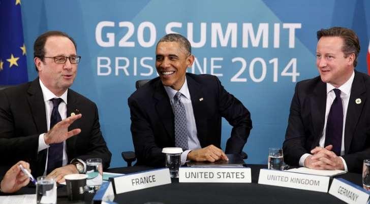 G20 se compromete a un mayor crecimiento y a combatir el cambio climático