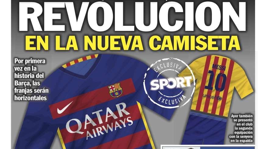 ¿Las nuevas camisetas de Barcelona para 2015?