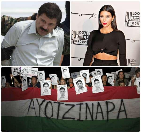 Ayotzinapa, El Chapo y Kim Kardashian, los temas más buscados en 2014