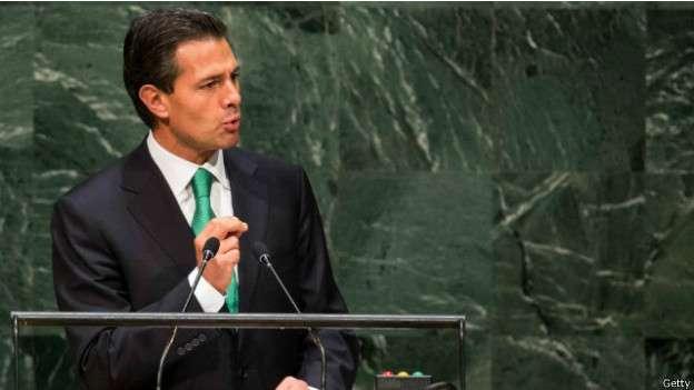 """Peña Nieto pide """"superar el dolor de Iguala"""""""