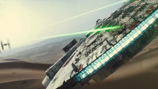 Tráiler de Star Wars Episodio VII El despertar de la Fuerza