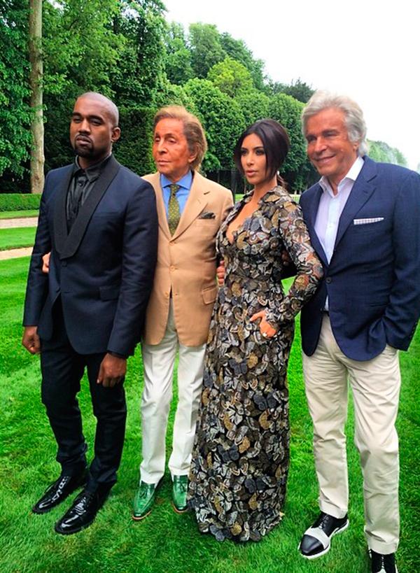 ¿Cómo fue el 'brunch' que le organizó Valentino a Kim Kardashian? ¡Conoce los detalles!
