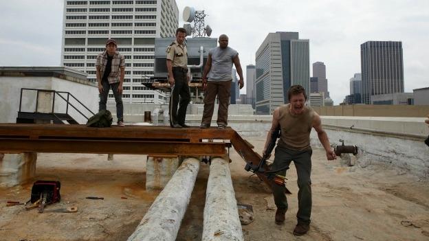 'The Walking Dead' crea un turismo 'zombi' en las calles de Atlanta